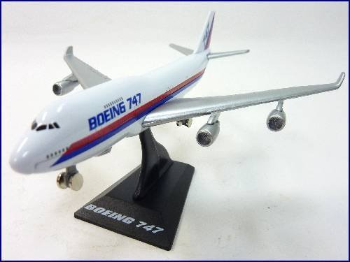 WELLY ž jumbo jet Boeing 747 airliner air plane (Boeing 747 Jumbo Jet)