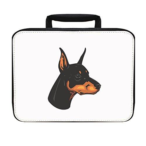 ad Insulated Lunch Box Bag (Doberman Pinscher Head)