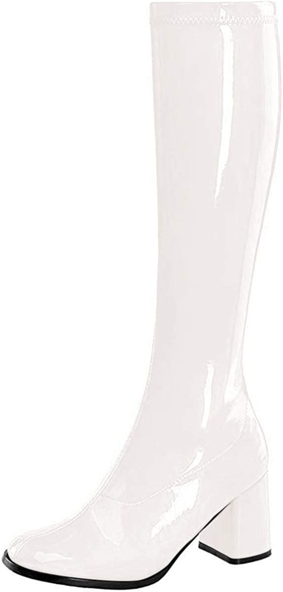 Pleaser - Gogo (White) Adult Boots - Wide Width - 8W - White