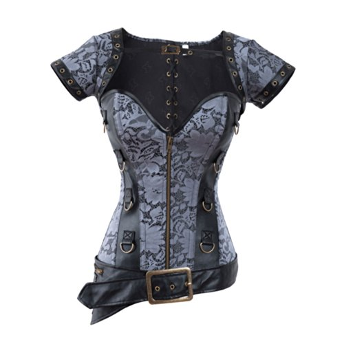 QinYing Reshaping Overbust Floral Bustier product image