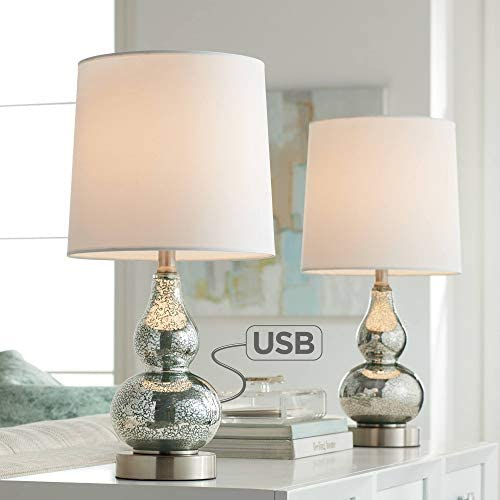 Castine Modern Accent Table Lamps Set of 2
