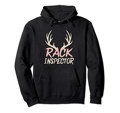 Rack Inspector Deer Hunting Whitetail Hoodie