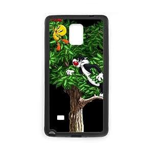 Tweety Bird Samsung Galaxy Note 4 Cell Phone Case Black yyfabd-241307