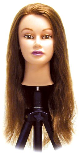 Celebrity Catherine Cosmetology Human Hair Manikin, 24-26 - Mannequin Competition