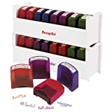 8 Piece Self-Ink Teacher Stamps with Stand [Set of 12]