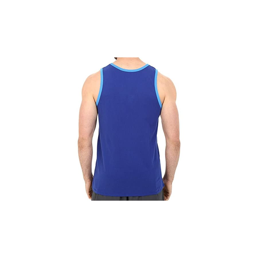 Nike Mens Futura Pack Knit Tank Top Deep Royal Blue Light Photo Blue