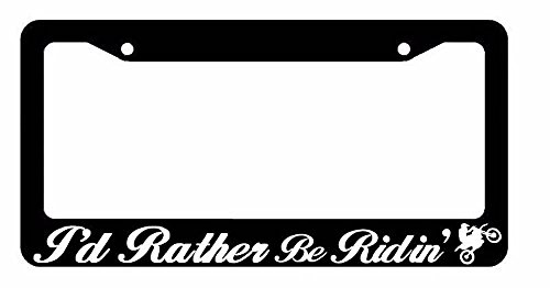 motocross license plate frame - 2
