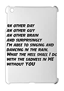 an other day an other guy an other brain and surprisingly iPad mini - iPad mini 2 plastic case