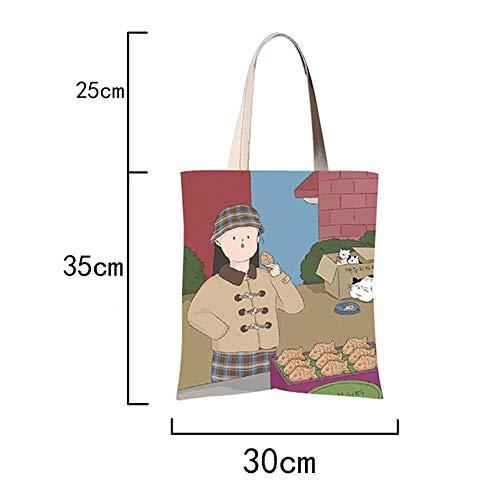 Toda Para Tamaño Battle Regalo I Personalizado Algodón Perfecto Bag Navidad El 30x35cm Ocasión Angel Reutilizables Bolsas Lona Bolsa Cumpleaños Compra Tote De Alita UWPc6TBST