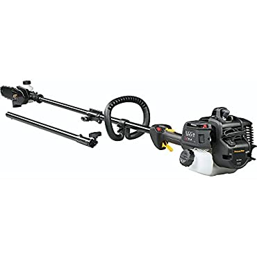 Poulan Pro PR28PS 28cc 2-Stroke Gas Powered Straight Shaft Pole Saw/Trimmer Combo (967089801)