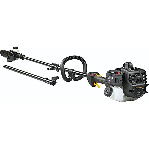 Poulan Pro Attachments - Poulan Pro 967089801 28cc 2 Stroke Gas Powered Straight Shaft Pole Saw/Trimmer Combo