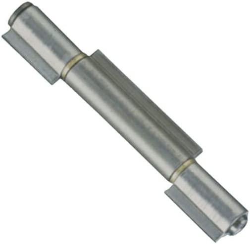 Bisagras de soldar a 3alas piezas perno Sfilabile 140mm 14cm puerta garaje