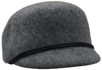 Genie by Eugenia Kim Women's Bettina 100% Wool Hat, Heather Gray, One Size
