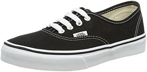 Vans VN-0WWX6BT Authentic Kid PS GS Skate Black True White Sneaker 3 M US Little Kid