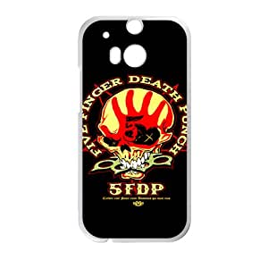 QQQO More Like Five Finger Death Punch Phone Case for HTC One M8