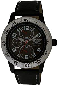 WINGMASTER LONDON Analogue Watch With Black Strap(W28)