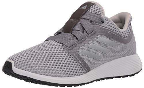 adidas Women's Edge Lux 3 Running Shoe, Grey/Silver Metallic/Grey, 5 M US