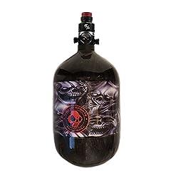 Ninja Carbon Fiber HPA Tank - PRO V2 SHP REG - 68/4500 LITE - No Evil Skulls - Wicked SeriesSee No Evil,Hear No Evil,Speak No Evil               Includes the Ninja PRO SHP V2 regulator!                SHP PRO V2 Regulator   ...