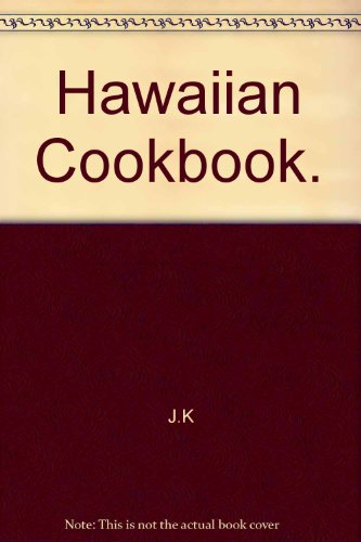 Hawaiian Cookbook.