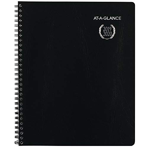 AT-A-GLANCE 2019-2020 Academic Year Weekly & Monthly Planner/Appointment Book, Large, 8