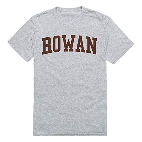 Rowan University Mens Game Day Tee T-Shirt Heather Grey -
