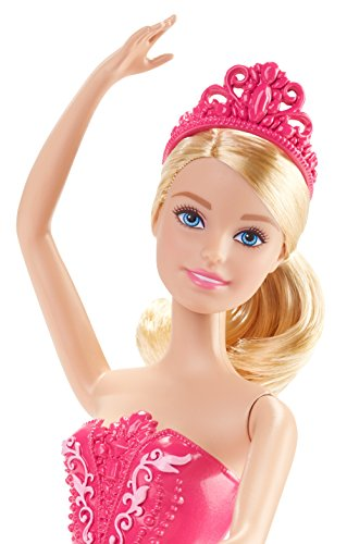 Barbie Fairytale Ballerina Doll, Pink