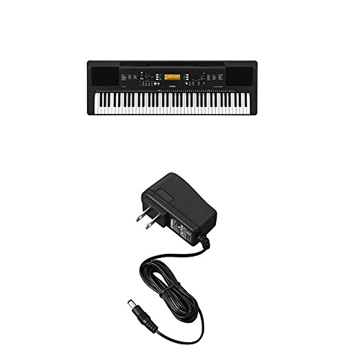 Yamaha PSR-EW300 76-Key Portable Keyboard with PA130 Power Adapter