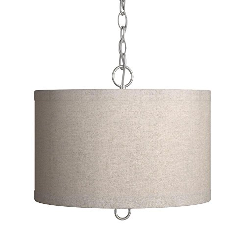 Plug In Drum Pendant Light
