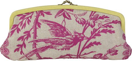 amy-butler-for-kalencom-cameo-clutch-linen-raspberry