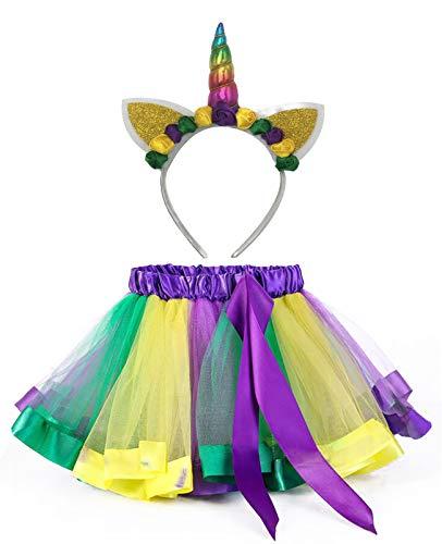 Mardi Gras Costumes For Girls - KASTE Tutu Skirt Layered Ballet Tulle