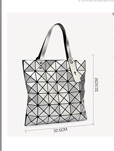 Di Geometry Tote Shopper Laser A Donne Lattice Pieghevole Brown Sacchetti Ivory Tracolla 15 Shimmer Borsa Colori Bao Diamond Spalla InwE0xvq7C