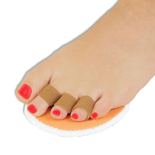 Right Foot Triple Toe Straightener Splint, Hammer Overlapping Crooked Toe