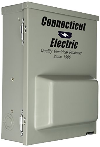 Connecticut Electric CESMPSC75GRHR 80-Amps/120240-Volt Circuit Protected RV Power Outlet by Connecticut Electric