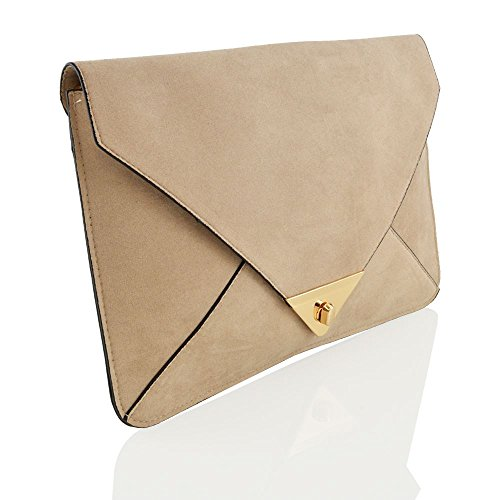 Glam Leather Clutch - 5