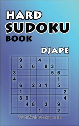 photo about Difficult Sudoku Printable named Complicated Sudoku E-book: 200 Not possible Sudoku Puzzles (Amount of money 1