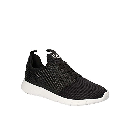Emporio Armani EA7 Herrenschuhe Herren Schuhe Sneakers racer pack Schwarz Black