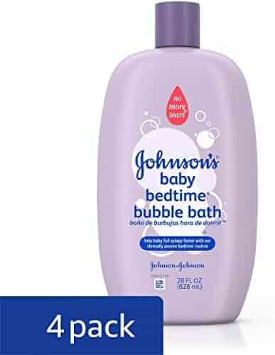 Johnson's Baby Bubble Bath, 28 Fl. Oz. (Pack of 4)
