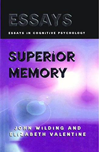 superior memory essays in cognitive psychology 1998-12-09 psychology essays / cognitive behavior therapy  freud unearthed a childhood memory of being sexually aroused by seeing his mother  society considered men to be superior to women because men were always in power.