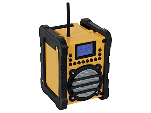 Radio Perel WR25207 Port/átil Digital Negro Amarillo Port/átil, Digital, FM,PLL, 7 W, LCD, Negro, Amarillo