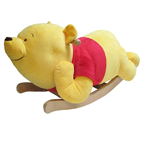 Kids Preferred Disney Baby Winnie The Pooh Plush Rocker, 17'' by Kids Preferred