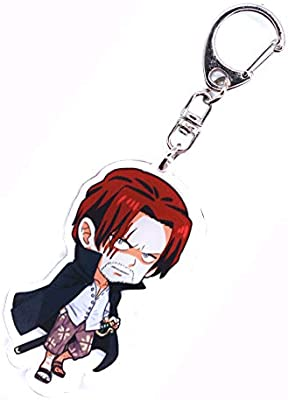 Anime Domain Llavero de One Piece con Figura Chibi (Shanks ...