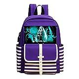 Custom Hatsune-Miku Anime Children School Backpacks Kid's School Bags Back Pack