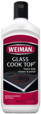 Weiman 72 Glass Cook Top Cleaner & Polish, 15 fl oz