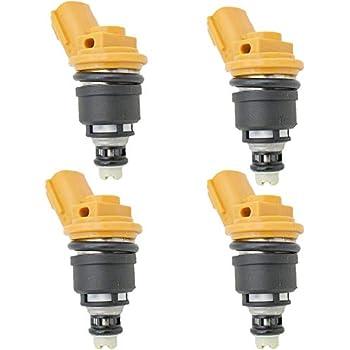 yise-C241 New 4PCs Fuel injector For Nissan RB25DET SR20DE SR20DET S13 Nismo 16600-RR543