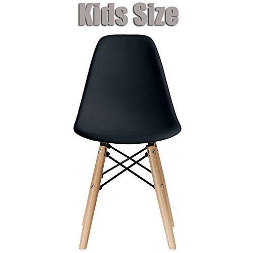 Amazon.com: 2xhome   Kids Size Eames Side Chair Eames Chair Yellow Seat  Natural Wood Wooden Legs Eiffel Childrens Room Chairs No Arm Arms Armless  Molded ...