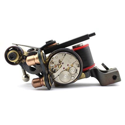 Tattoo Machine,New Star Tattoo One Professional Coil Custom Handmade Tattoo Machine Gun Kit Supply
