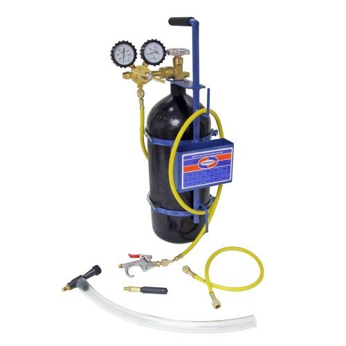 40' Metal (Uniweld 40040 Nitrogen Sludge Sucker and Blaster Kit with Metal Carrying Stand for 40 Cubic Feet Nitrogen Tank by Uniweld)