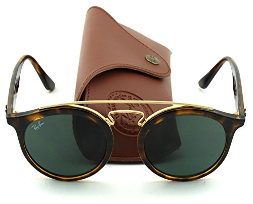 Ray-Ban RB4256 GATSBY I Retro-modern Women Sunglasses (Tortoise Frame/Green Lens 710/71, - Rayban Gatsby