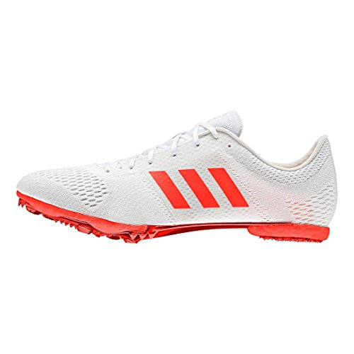 Adidas Performance Adizero Md Track Shoe Blu Solare / Nero / Bianco / Bianco