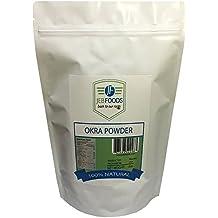 JEB FOODS Africa Okra Powder Natural, Non GMO and Gluten Free, 8 oz.